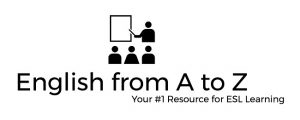 """""""English from A to Z"""" logo"""
